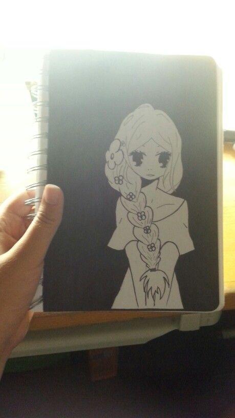 Fatto io con il pennarello nero ♥♥♥ #manga #disegni #disegnimanga