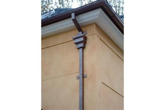 Decorative Downspouts - Decorative Gutters - HouseLogic Home Ideas