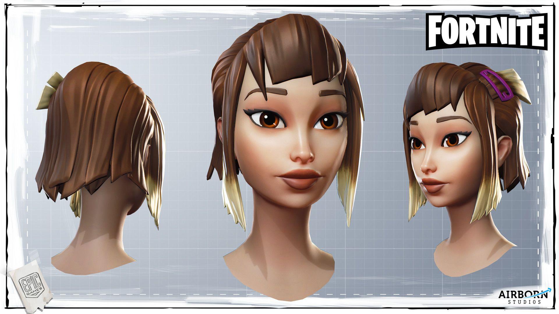 Artstation Fortnite Shana Vandercruysse Cartoon 3d Faces