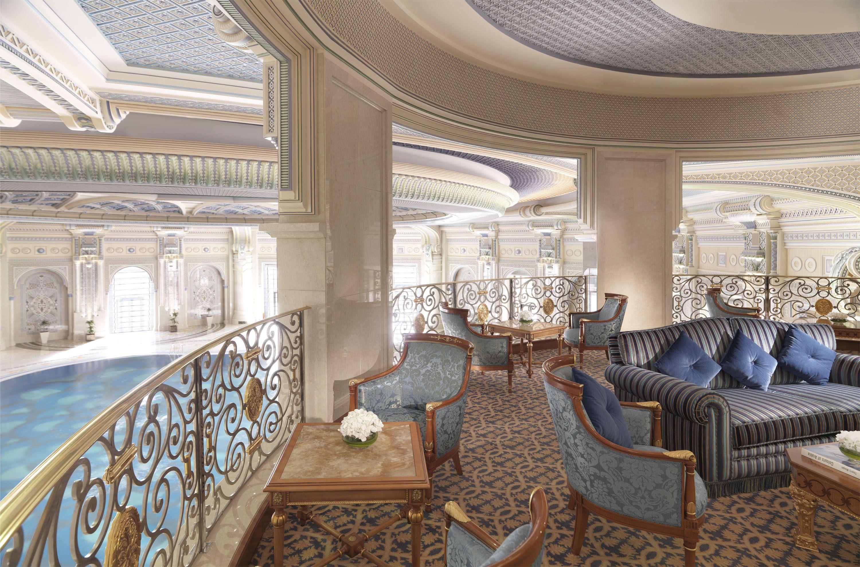 The ritz carlton riyadh club lounge is located on the - Hotels in riyadh with swimming pools ...