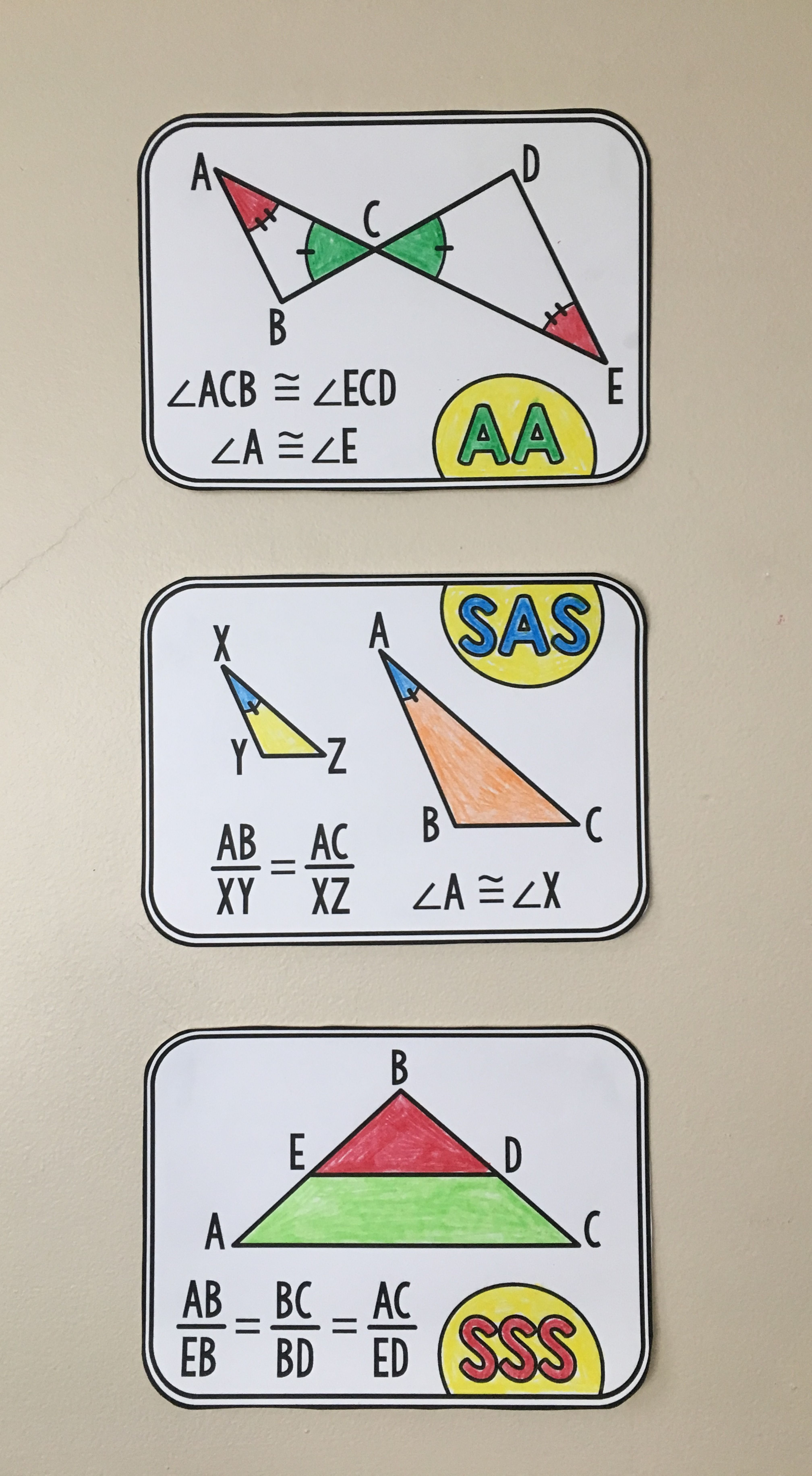 Geometry Word Wall Geometry words, Math word walls