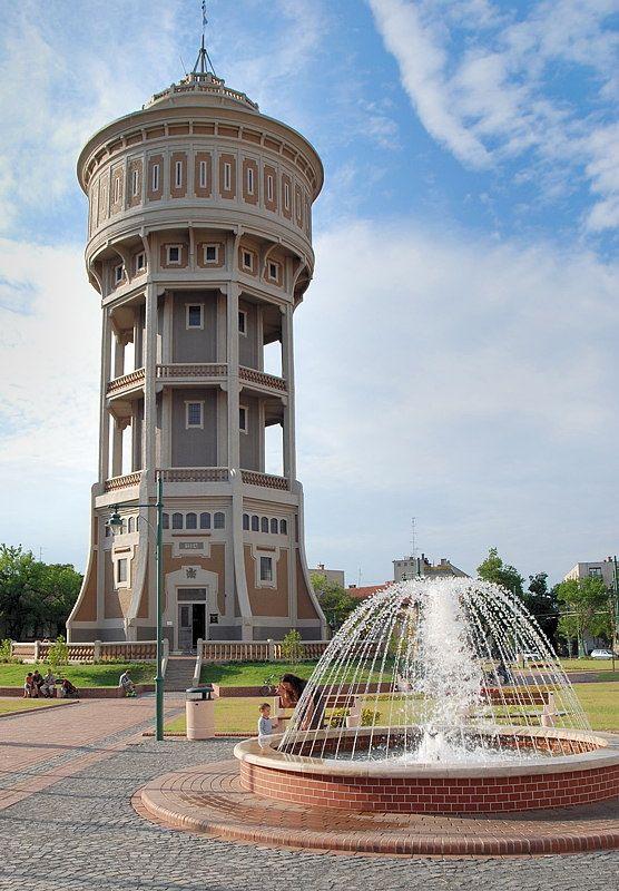 La Vieille Dame de Szeged - Szeged, Csongrad, Hungary (viztorony)
