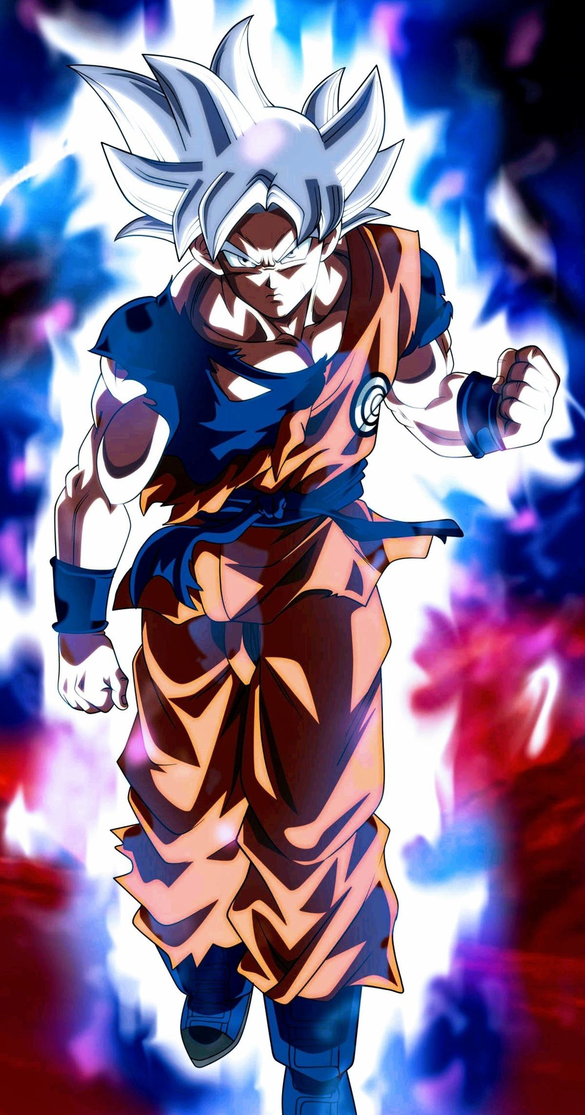 Iphone X Xr Xs 6 7 8 Plus Flexible Slim Tpu Protector Cover Silver Goku Anime Dragon Ball Super Anime Dragon Ball Dragon Ball Super Artwork