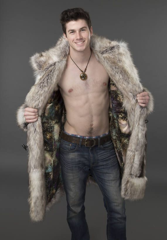 MANTEAU en fausse fourrure pour homme Regal Fur Bomber, Bomber Jacket Men,  Mens Fur 6d873afa25e