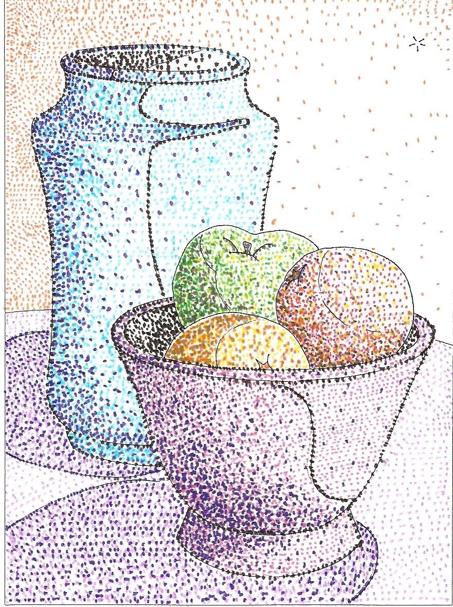 Texturas Visuales Puntos 2º Eso Dto De Dibujo Ies Fray Bartolome De Las Casas Dibujos Con Puntillismo Punto Arte Dibujos De Puntos