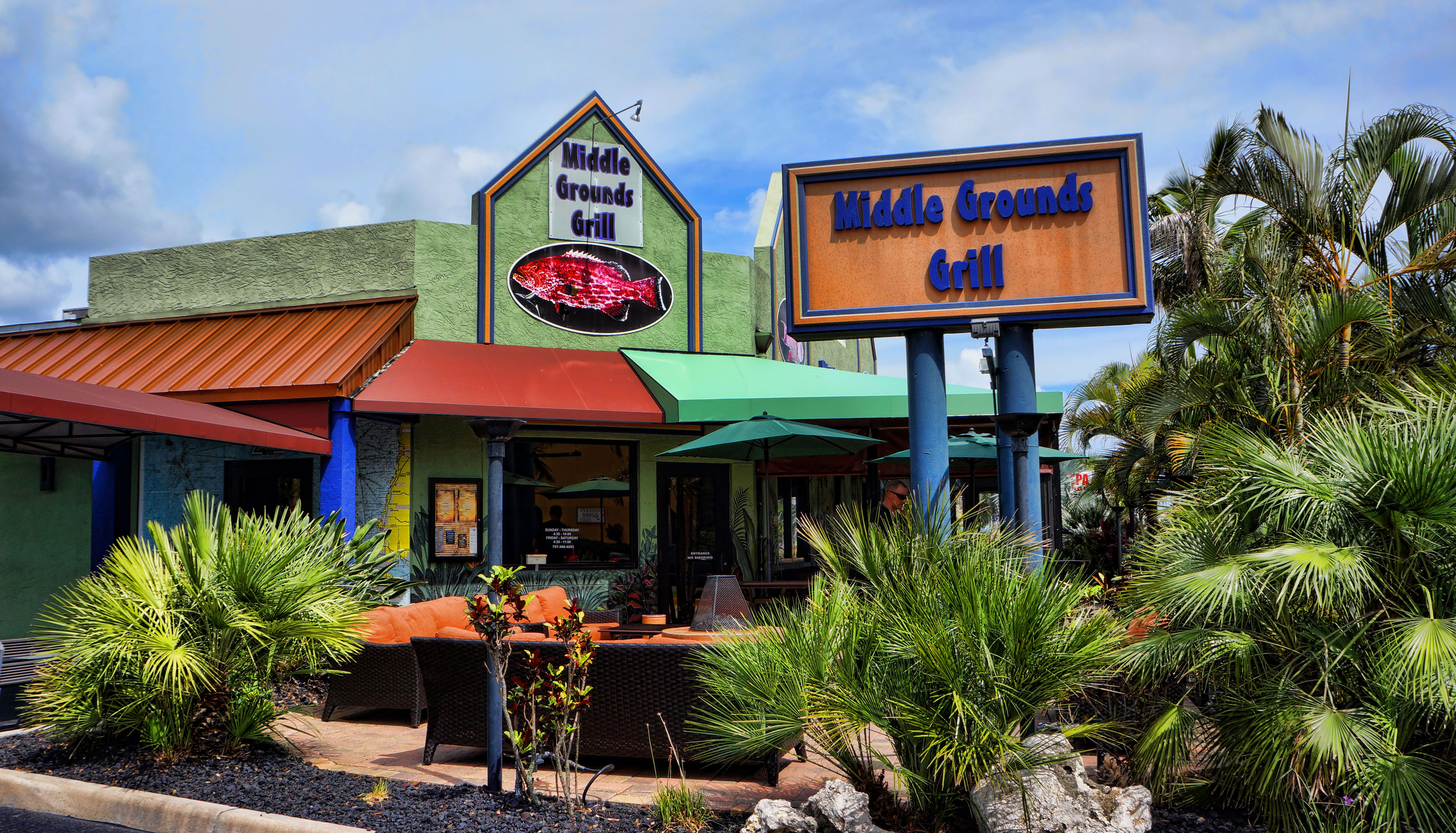 Middle Grounds Grill Treasure Island Florida St Petetampa