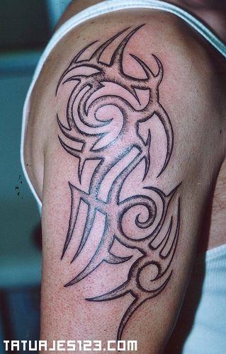Tatuajes Hombros Tatuaje Tribal En El Hombro Para Imprimir
