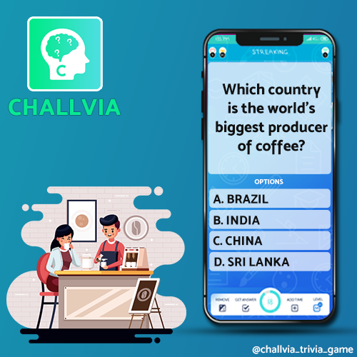 Do you know? Which country is the world's biggest producer