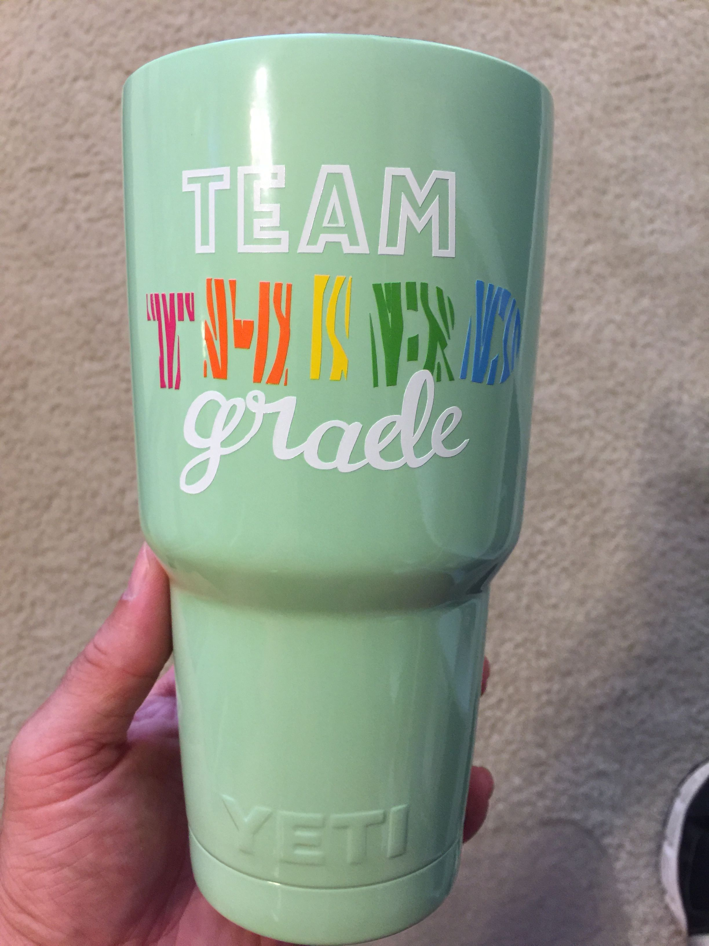 f57530a1a1 Teacher gift, teacher cup, yeti cup, dipped yeti, Christmas present for him  and her. Create your own design yeti cup