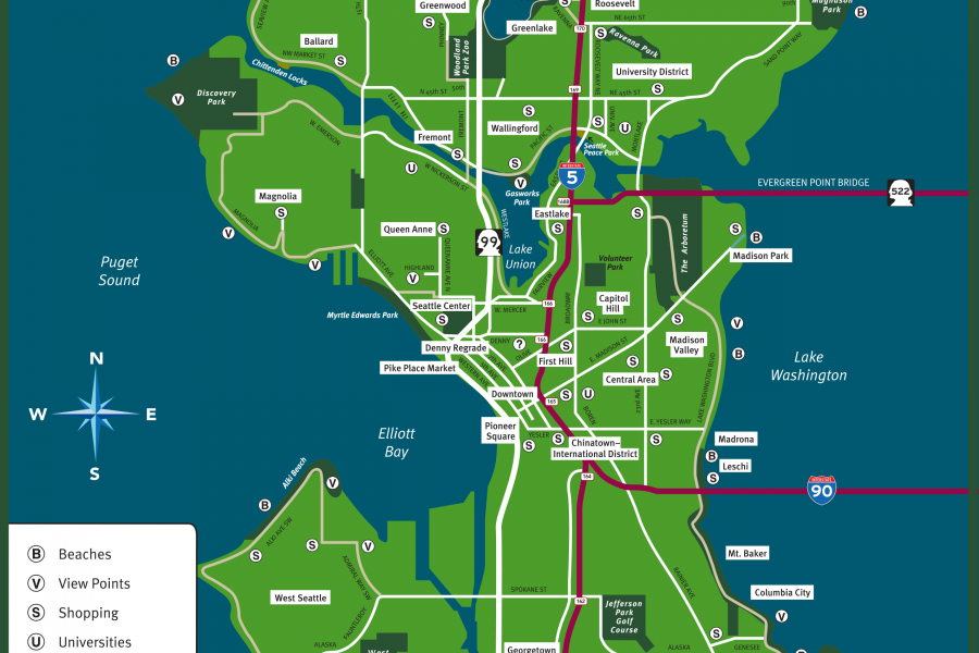 detailed map of seattle neighborhoods  Yahoo Search Results