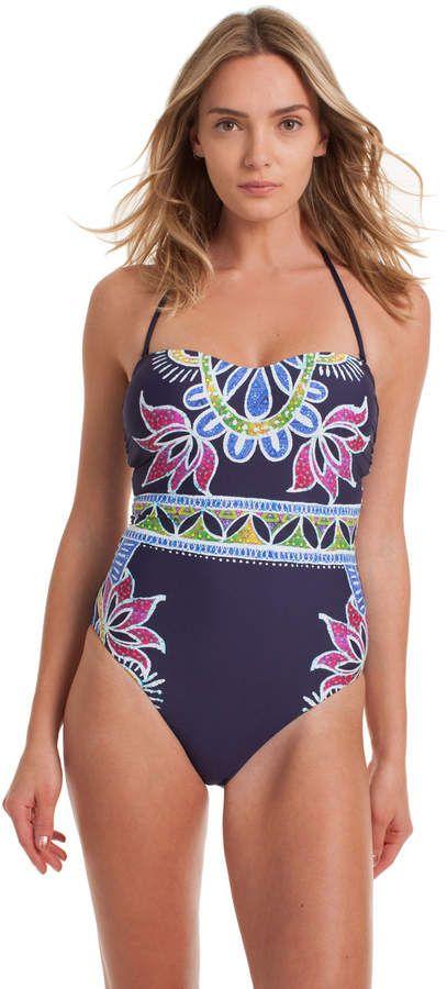 3b8fad5c9a Lotus Batik Bandeau One Piece #suit#chic#sleek | women fashion | One ...