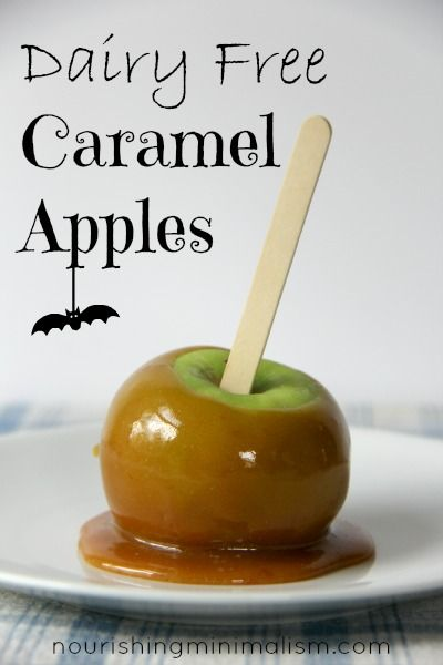 Dairy Free Caramel Apples With Images Dairy Free Caramel Apple
