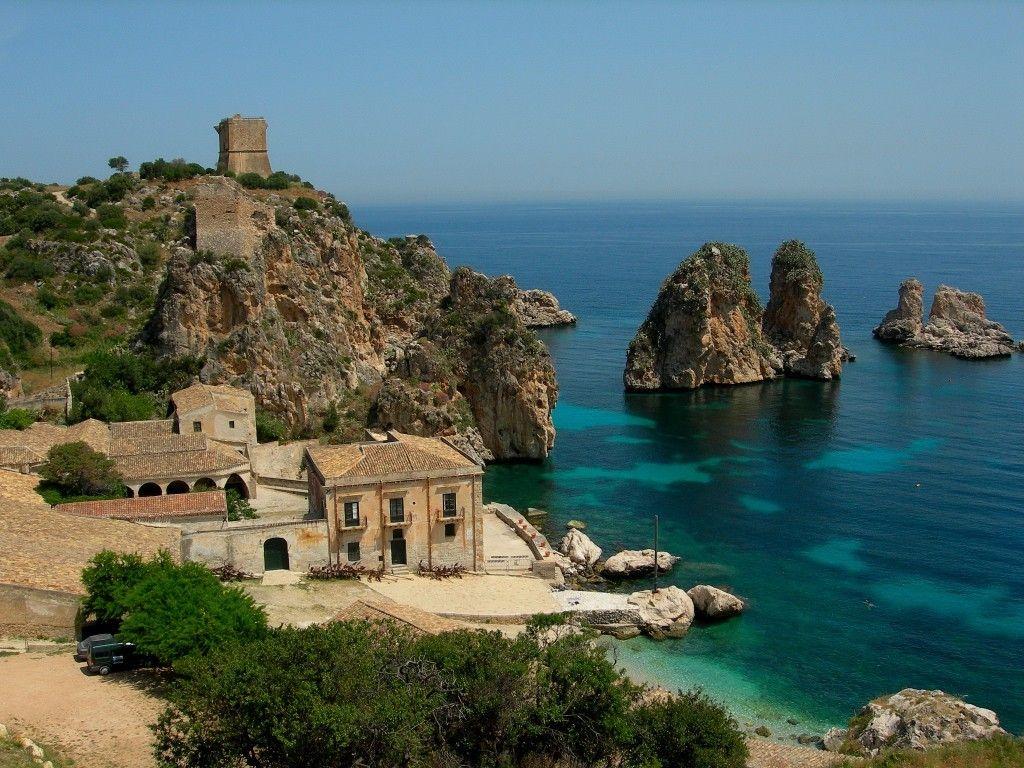 Trapani villa rental scopello beach (With images