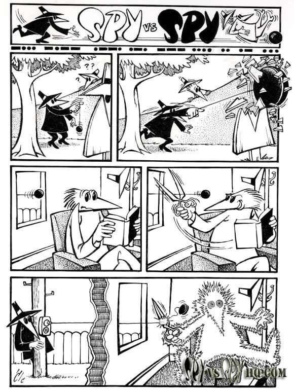 Spy vs Spy | Fun comics, Classic cartoons, Mad magazine
