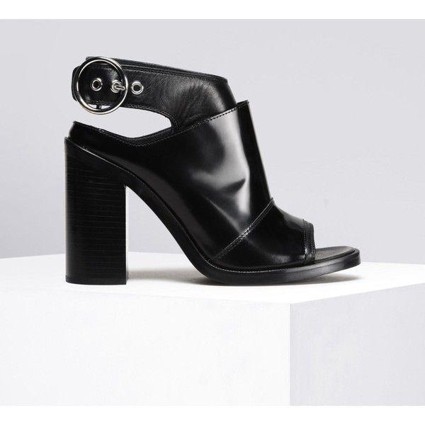 Maison Margiela High Heel Mules - Black qFmr2VUo