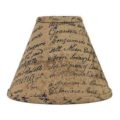 10 Inch Burlap Lamp Shade Home Collection By Raghu Indentured French Script Burlap Lampshade Lamp Shade Home Collections