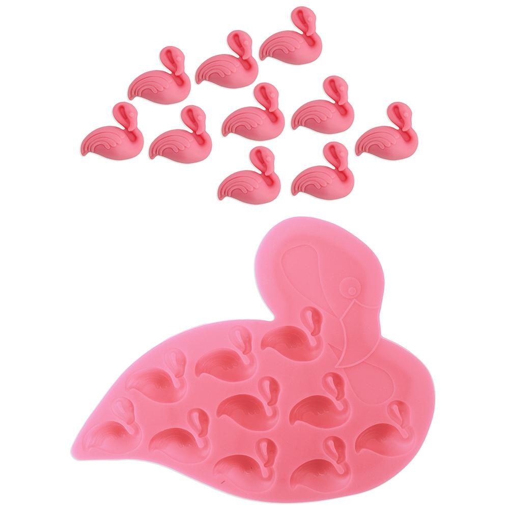 6ffd559bd31fe Flamingo Chocolate Silicone Mold | Flirty Flamingos in 2019 ...