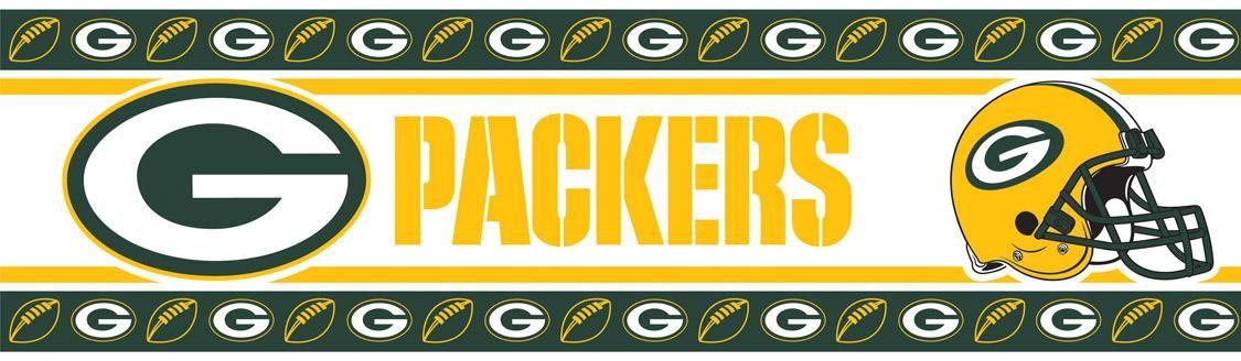 Bay Packers Wallpaper Border