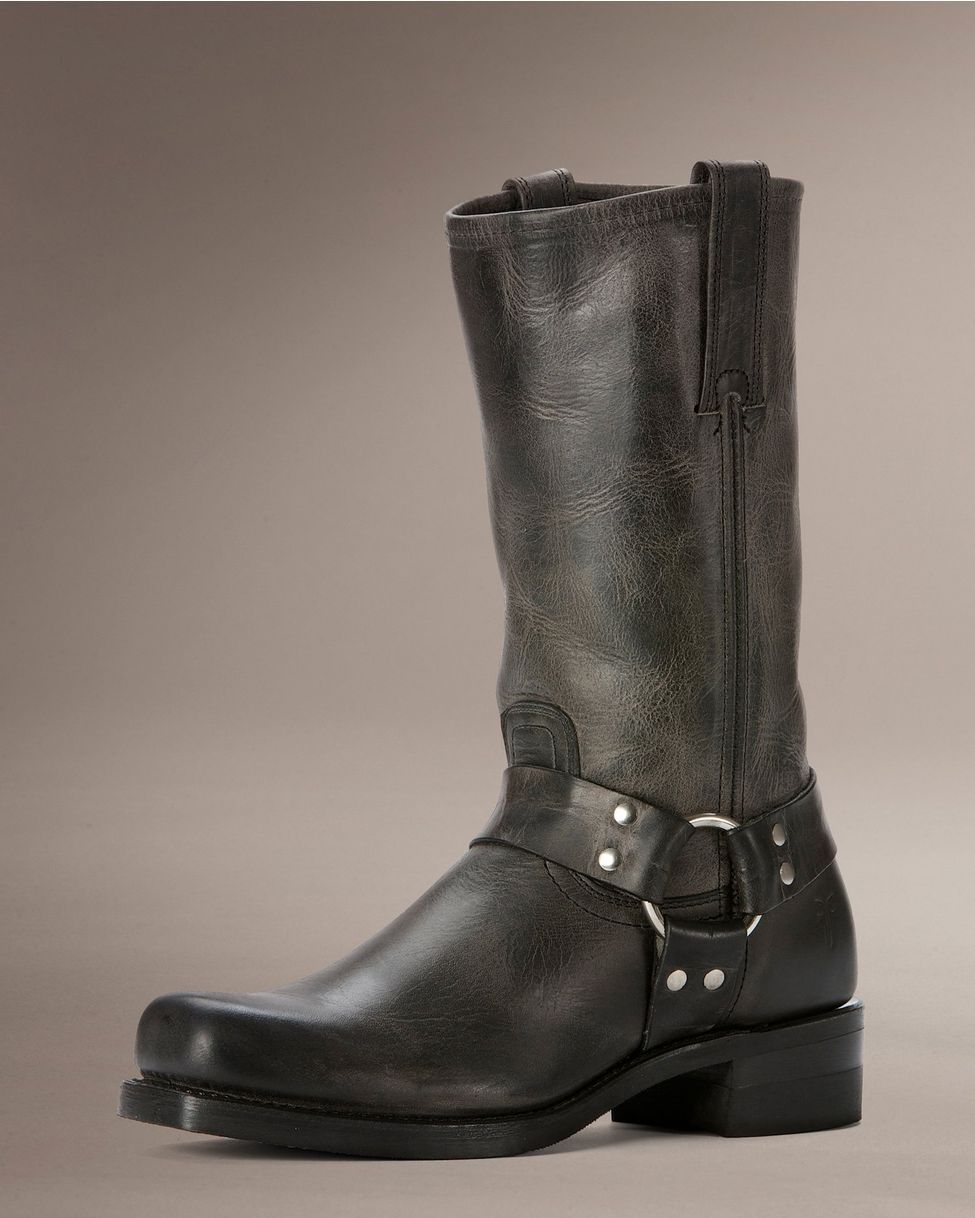 26c4aedc032 Frye Men's Harness 12R Boot - Charcoal | BOOTS in 2019 | Boots ...