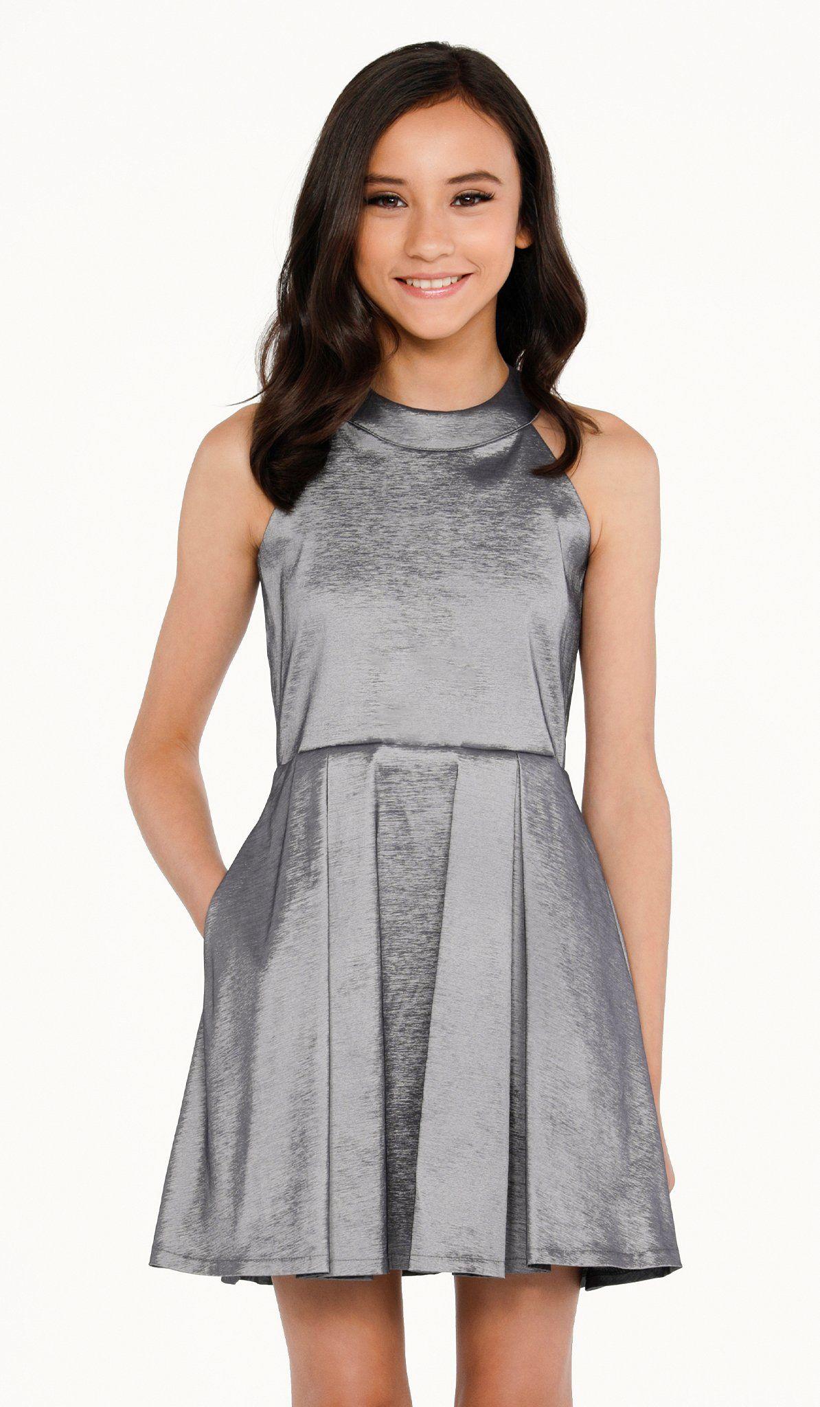 The platinum pocket dress in 2020   Cotillion dresses ...