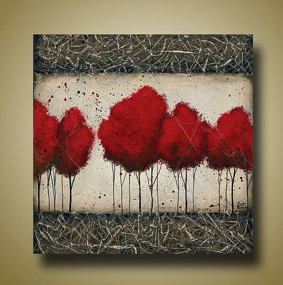 Red Tree Art Limited Edition Signed Print  Only by BrittsFineArt