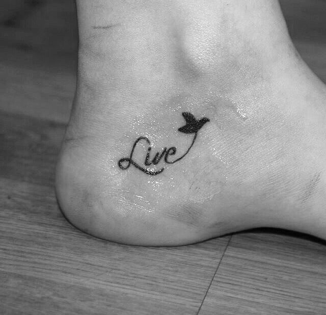 Small Bird Foot Tattoo Simple But Meaningful Small Foot Tattoos Bird Tattoo Foot Foot Tattoos