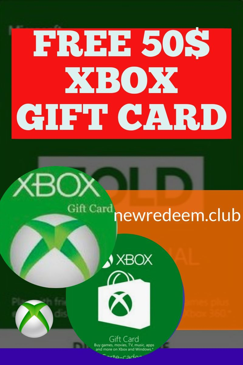 Get a 50 xbox gift card free in 2020 xbox gift card