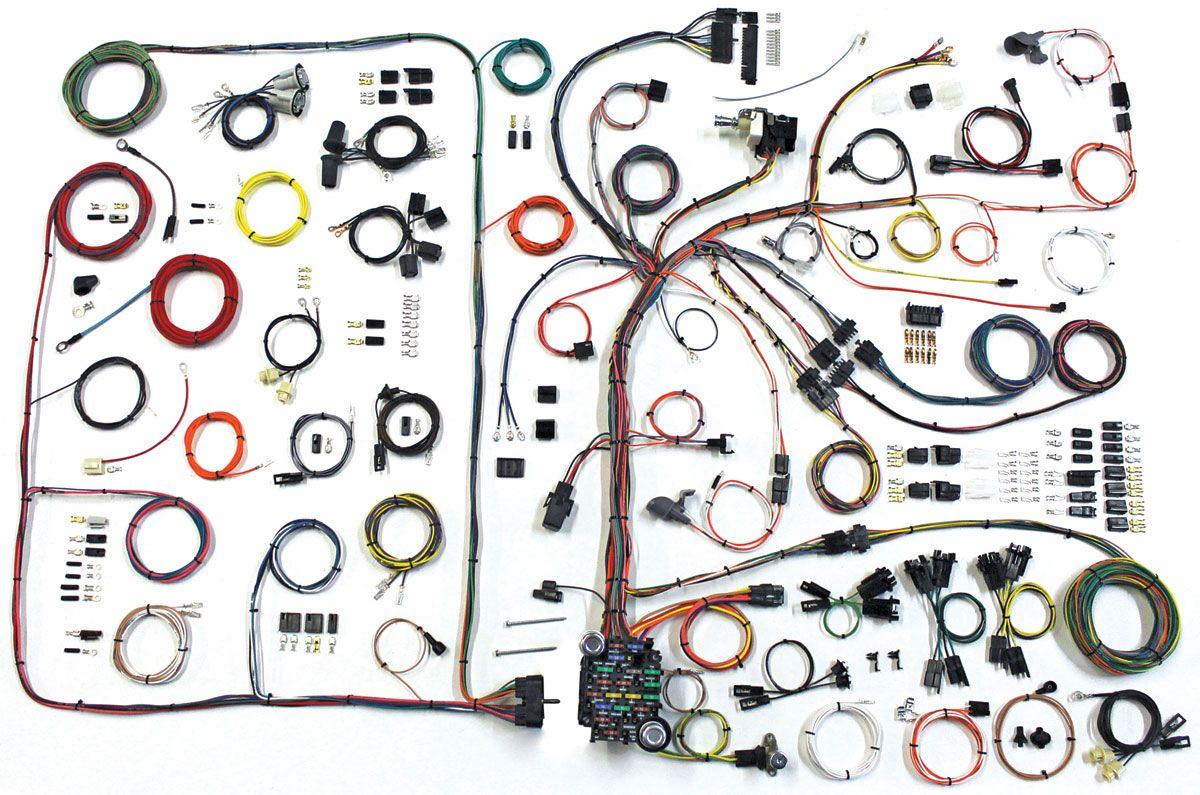 Wiring Harness Kit American Autowire Classic Update 1968 72 Gtl Opgi Com Gto Pontiac Gto Pontiac
