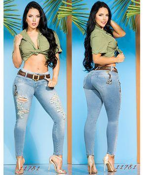 Venta De Pantalones Colombianos En Madrid Marca Cheviotto En Todos Los Modelos Y Color Pantalones Colombianos Estilo Denim Pantalones Colombianos Levanta Cola