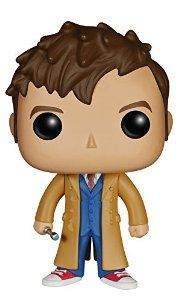 Funko 4627 POP TV: Doctor Who Dr #10 Action Figure from FunKo Disc: Affiliate Link