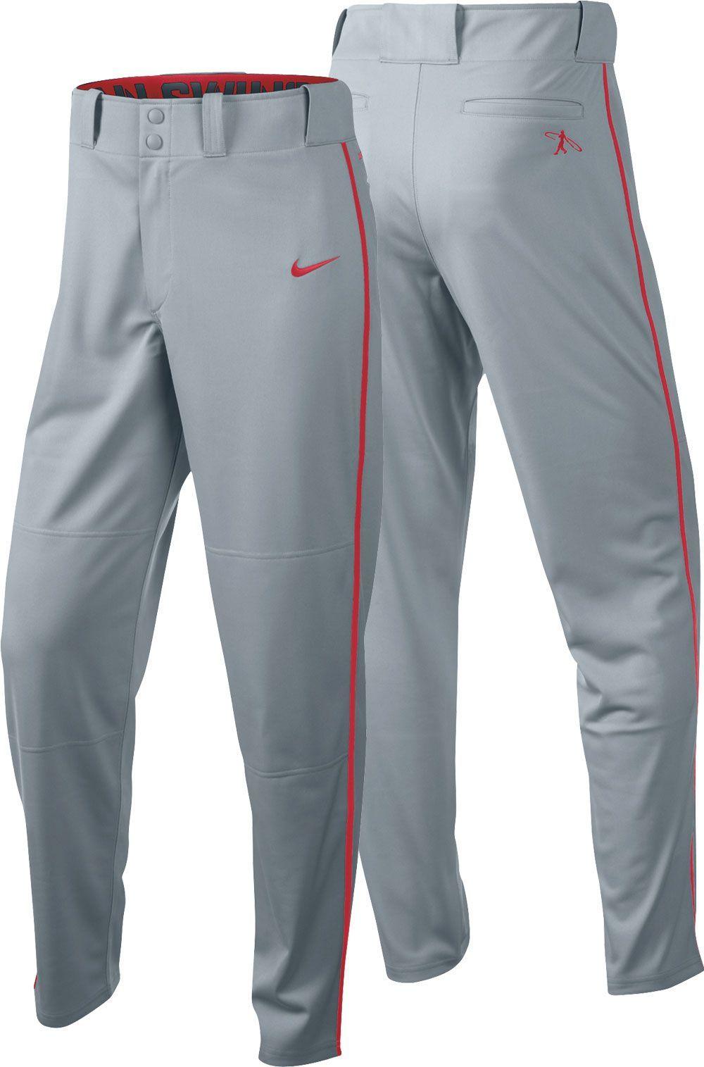 Nike Boys' Swingman Dri FIT Piped Baseball Pants, Size