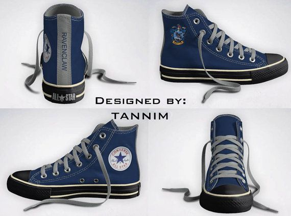 882a7be9dc2 Ravenclaw Converse!  3