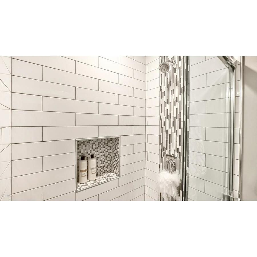 Emser Choice 25 Pack Bone 4 In X 16 In Glazed Ceramic Subway Wall Tile Lowes Com Emser Ceramic Subway Tile Wall Tiles