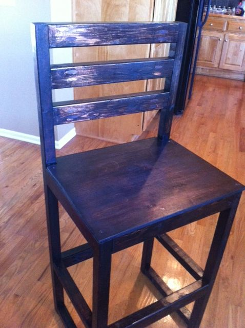 Stupendous Diy Counter Height Bar Stool Plan And Guide Book Shelf For Machost Co Dining Chair Design Ideas Machostcouk