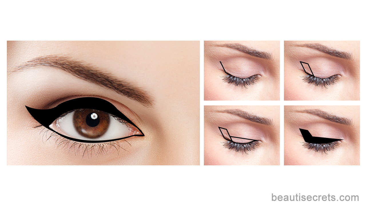 Monumento Orso Esperto  Winged eyeliner for deep set eyes #PerfectEyeliner ...