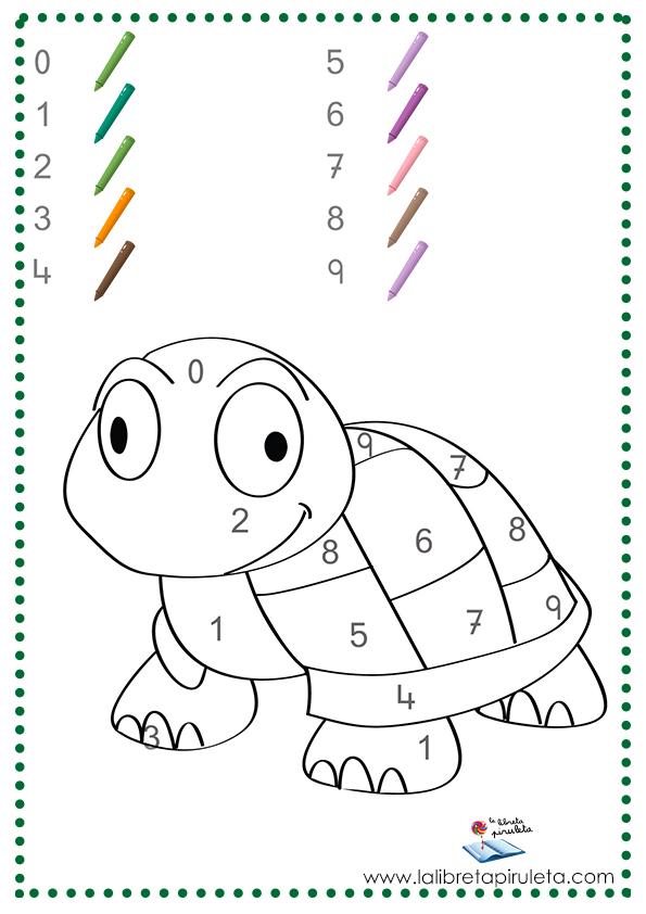 Colorear Segun Numeros Dibujos Para Disfrutar La Libreta Piruleta Colores Dibujos Colorear Por Numeros