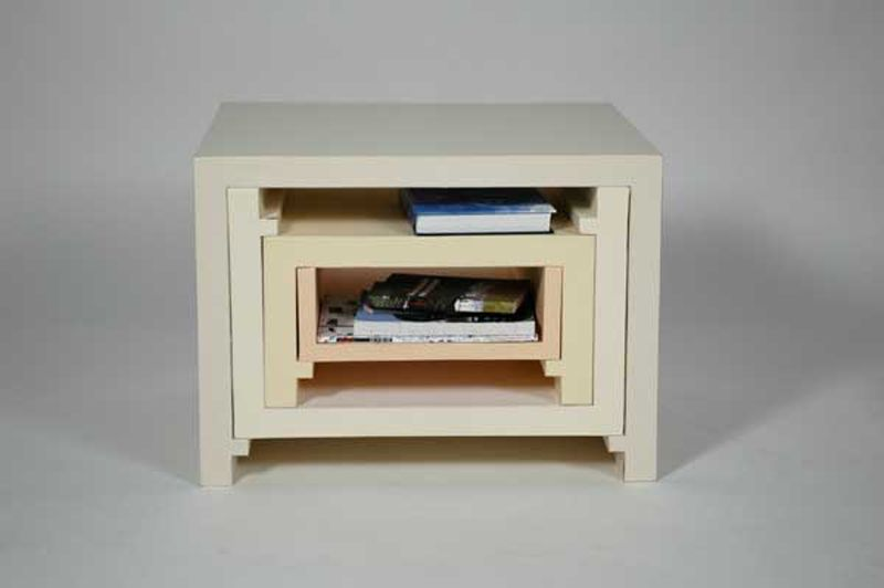 Creative Idea Stacking Nesting Furniture by Florian Krautli 3D