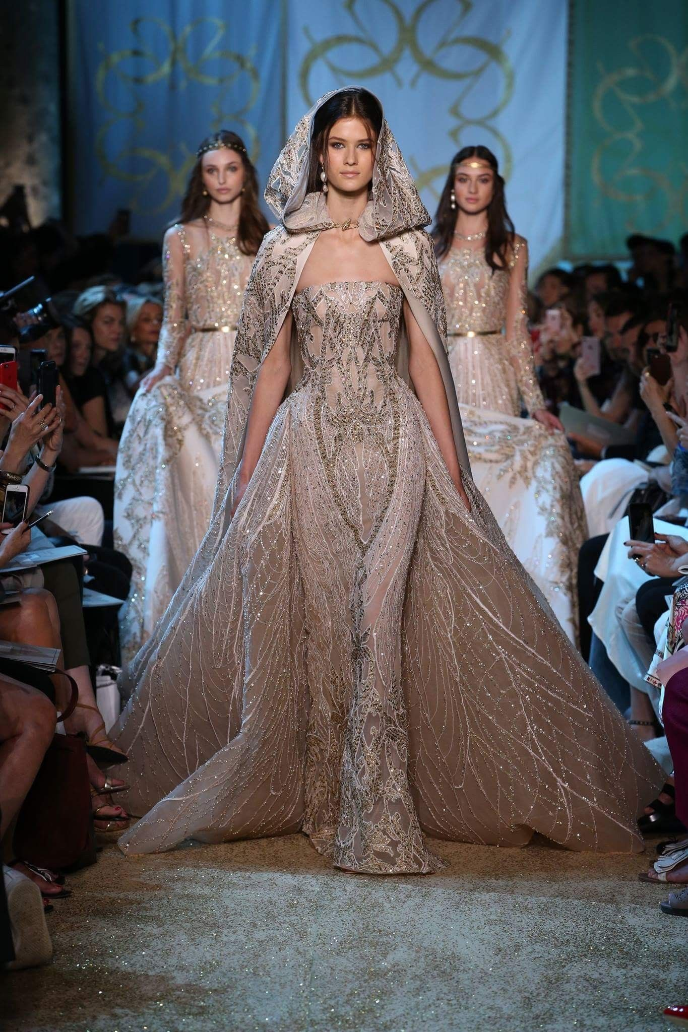 Elie Saab Haute Couture Fall 2017/18 | DESIGNER GOWNS | Pinterest ...