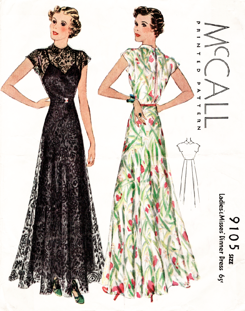 M-9105 | multi-size options | Pinterest | Vintage sewing patterns ...
