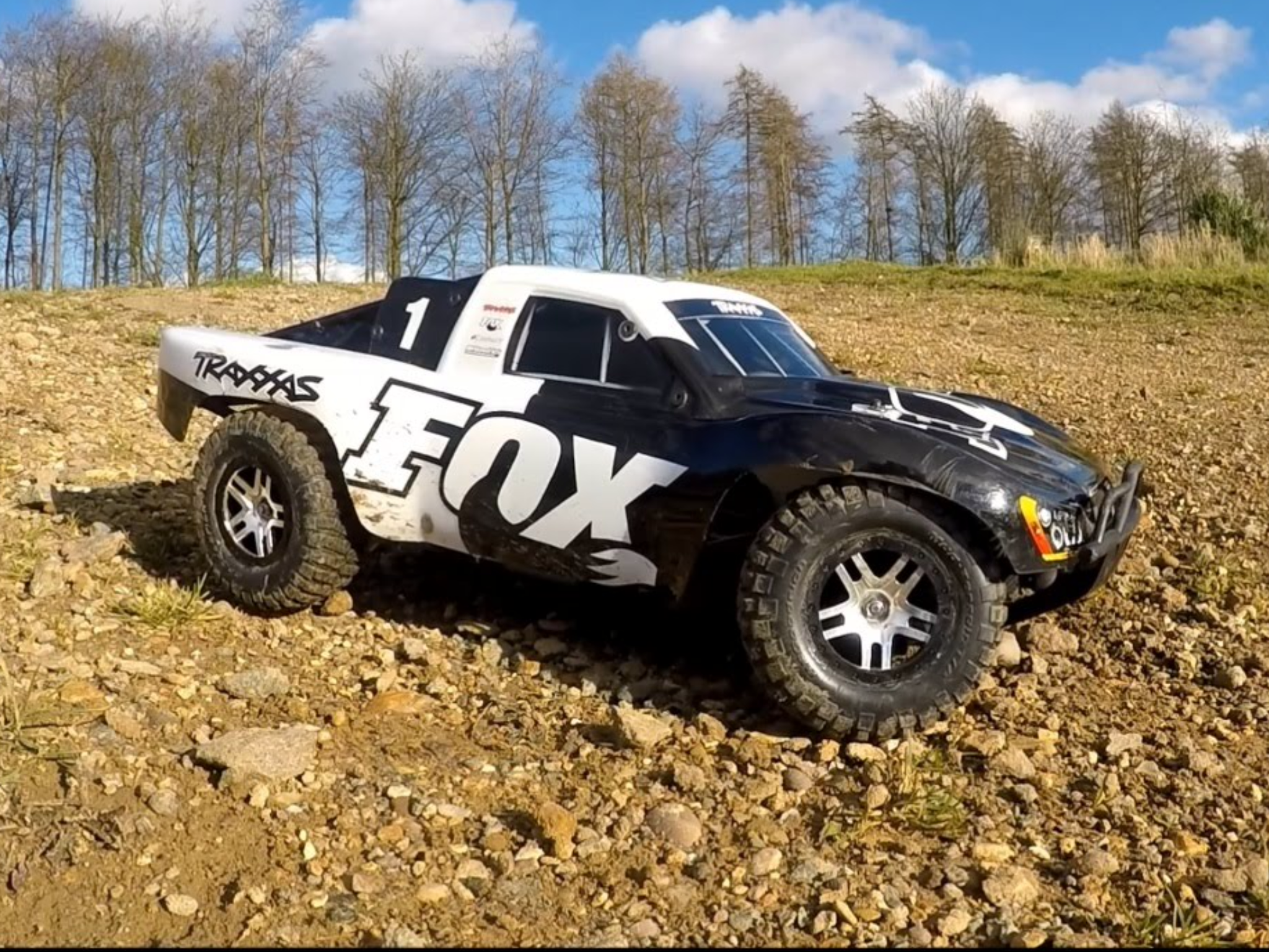 Traxxas slash fox edition