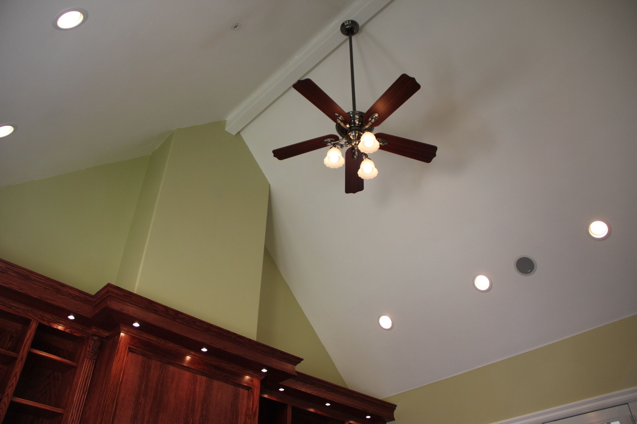 Ceiling fan mount for vaulted ceiling ladysrofo pinterest