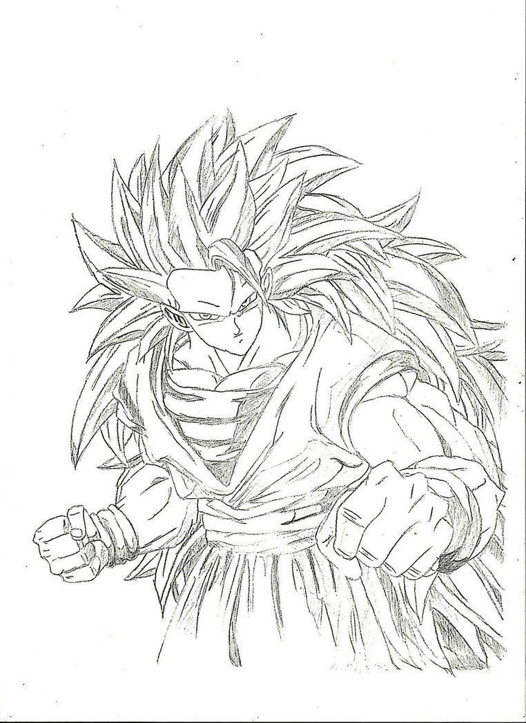 Goku SSJ3 by GDOrtiz