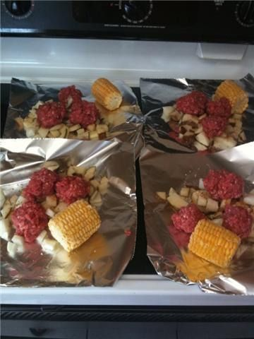 how to cook food at camping