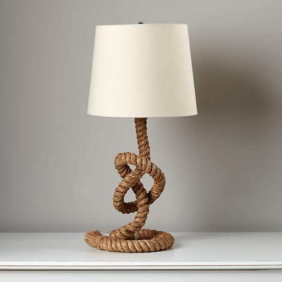 Divine Design Deals On The Web The English Room Blog Rope Lamp Rope Lamp Base Rope Table Lamps