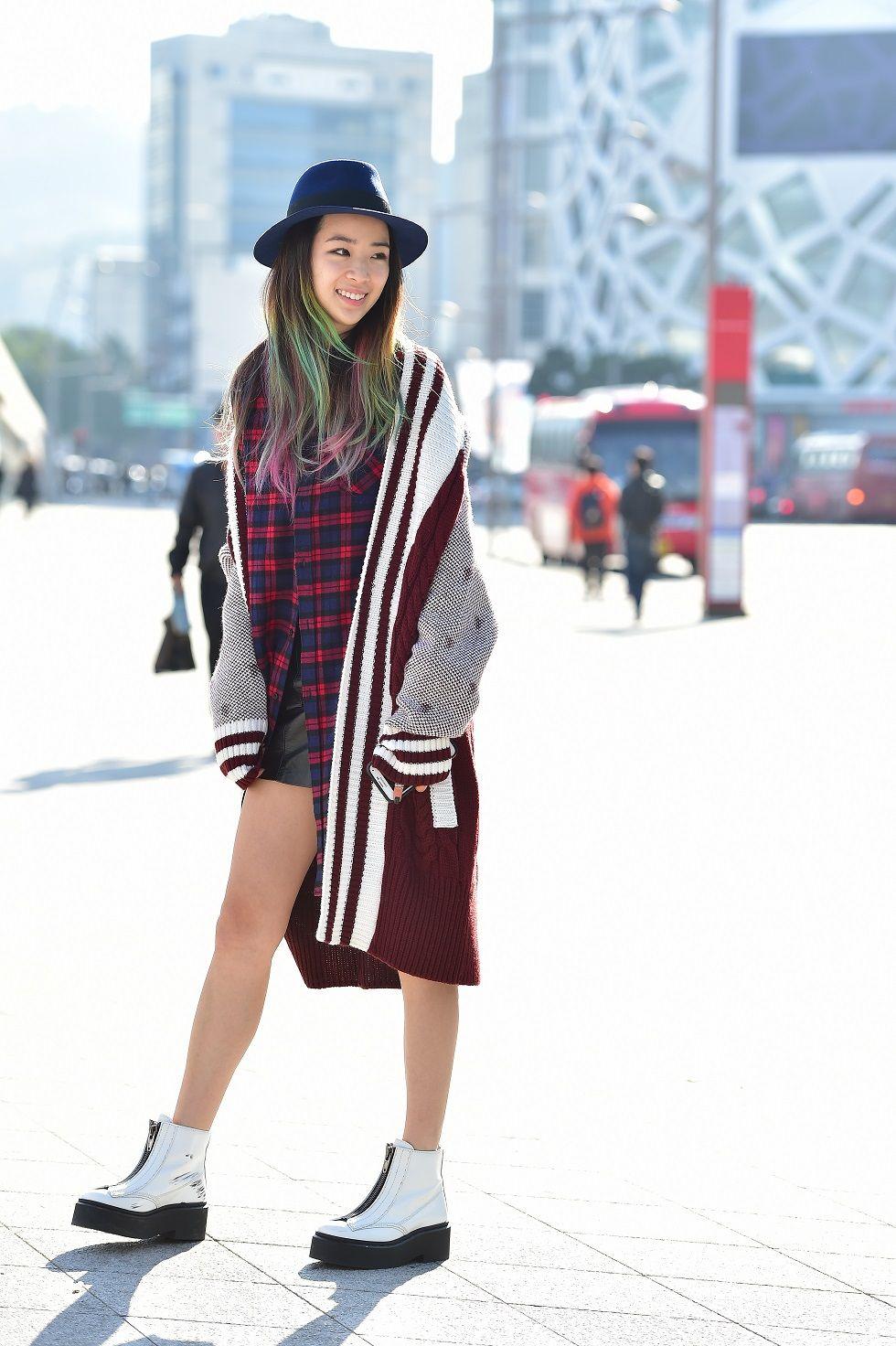 Street Style Irene Kim At Seoul Fashion Week Spring 2015