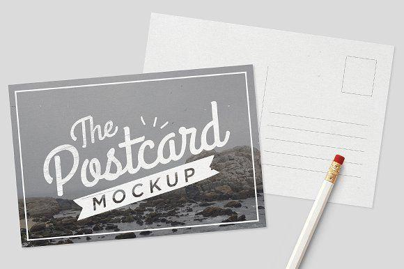 Mockup Postcards Postcard Mockup Postcard Postcard Design