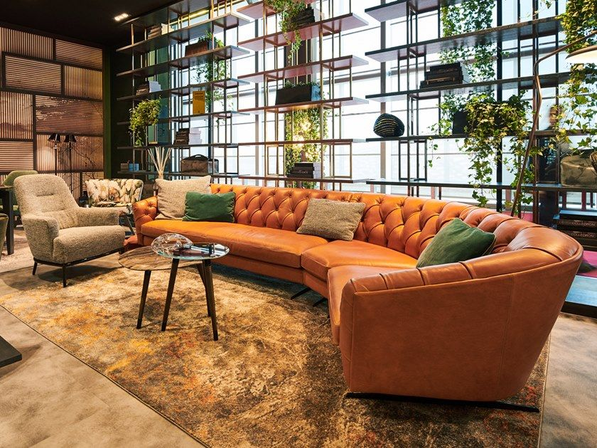 Download The Catalogue And Request Prices Of New Kap Leather Sofa By Borzalino Tufted Section Elegant Living Room Furniture Modern Leather Sofa Leather Sofa