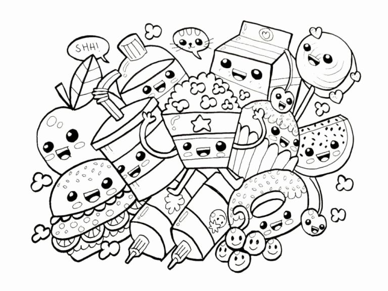 Turkey Coloring Sheets Free Awesome Coloriage Kawaii Sushi Disney Billedresultat For Fortnite Wi Cute Coloring Pages Cute Doodle Art Food Coloring Pages
