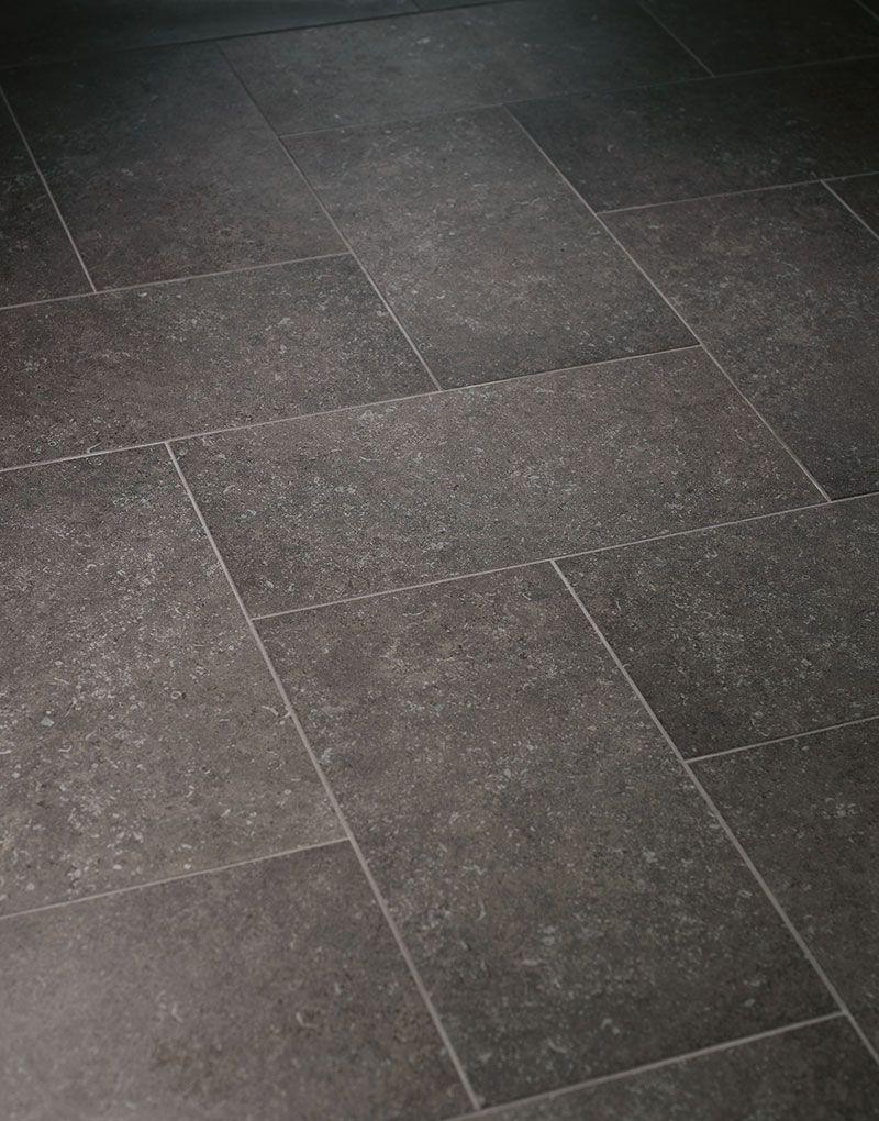 Vermont Black Bluestone Porcelain Stone Floor Tile Patterns