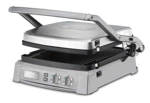 Cuisinart GR-150 Griddler Deluxe, Brushed Stainless $159.95 (47% OFF)
